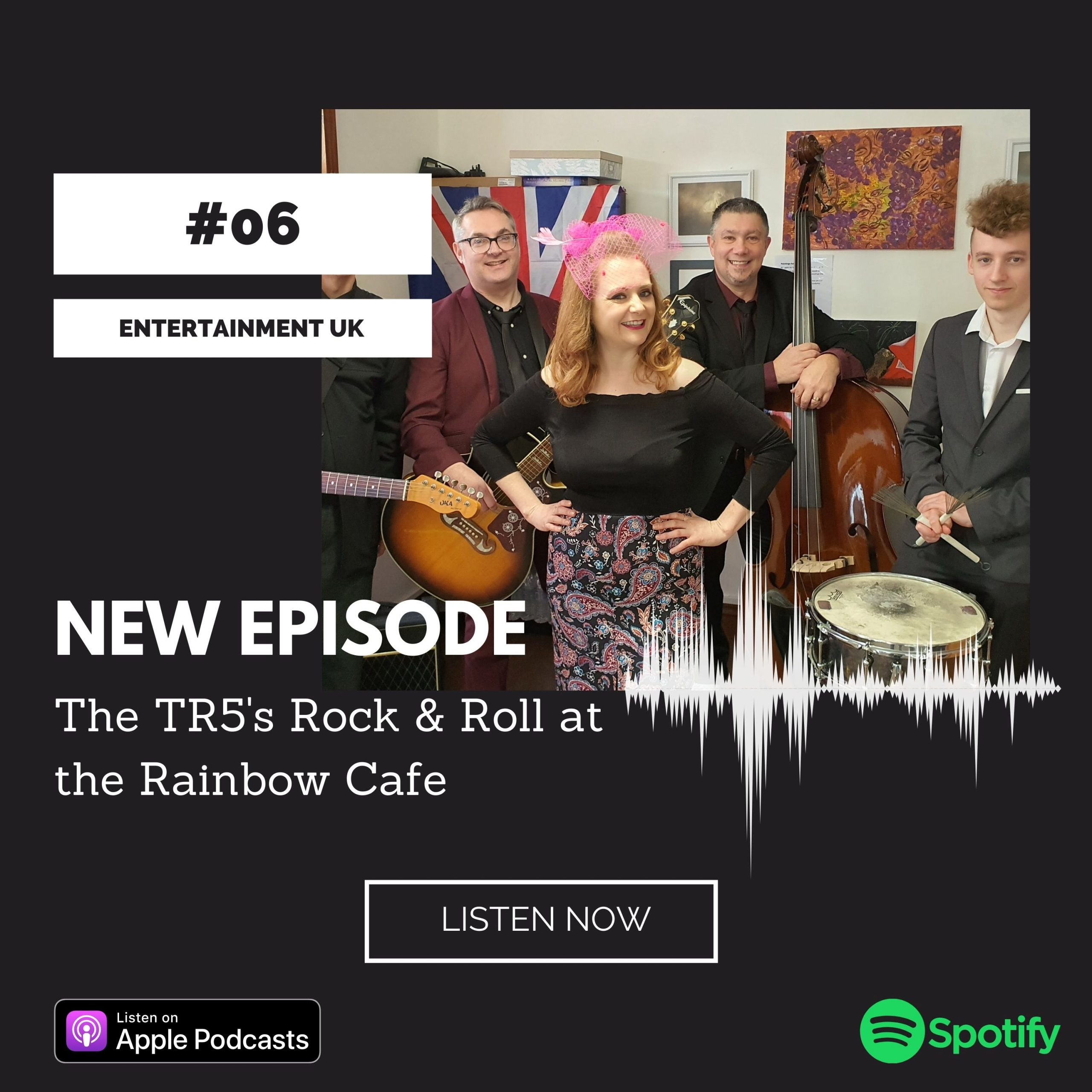 The TR5's Rock & Roll at the Rainbow Cafe