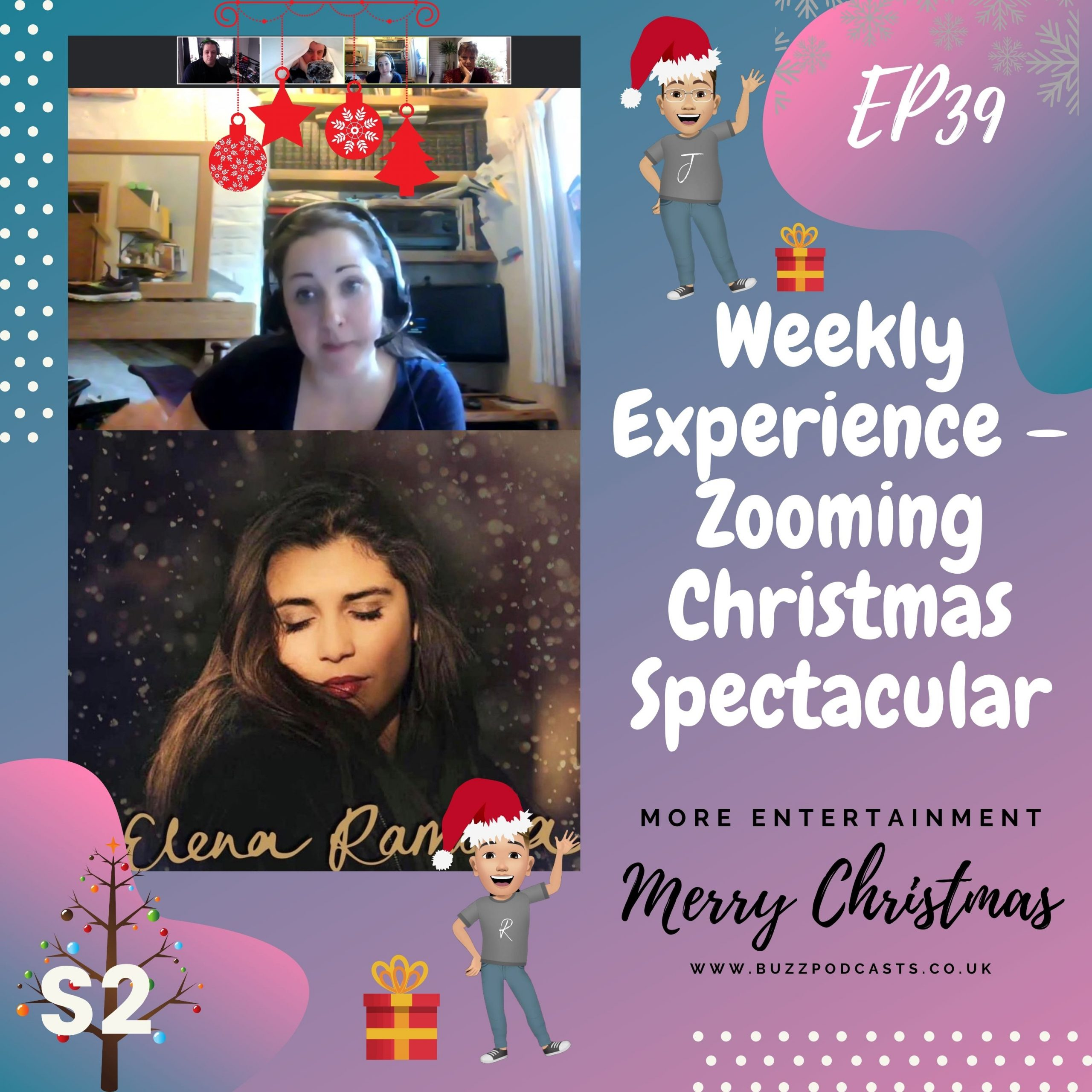 Weekly Experience – Zooming Christmas Spectacular