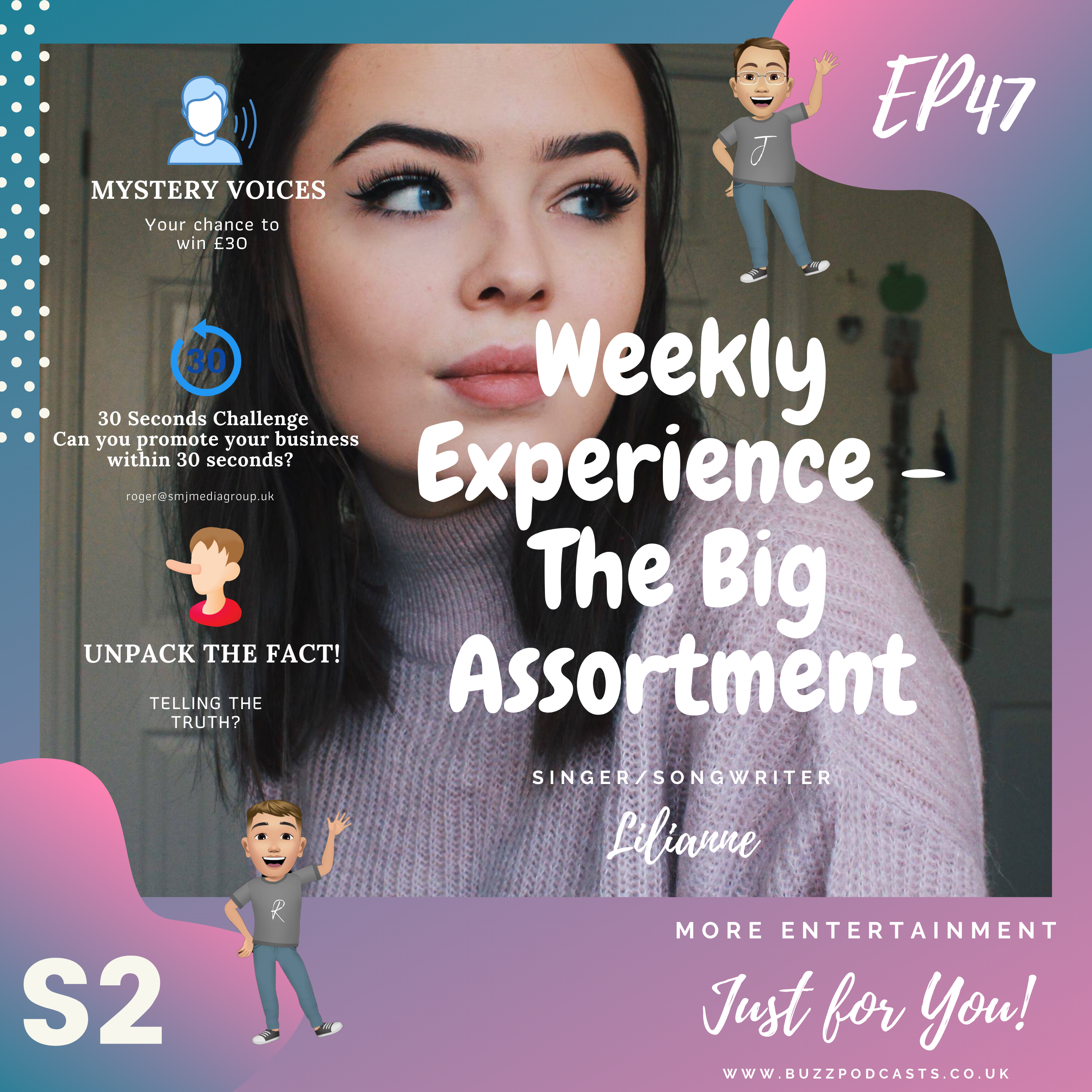 Weekly Experience – The Big Assortment