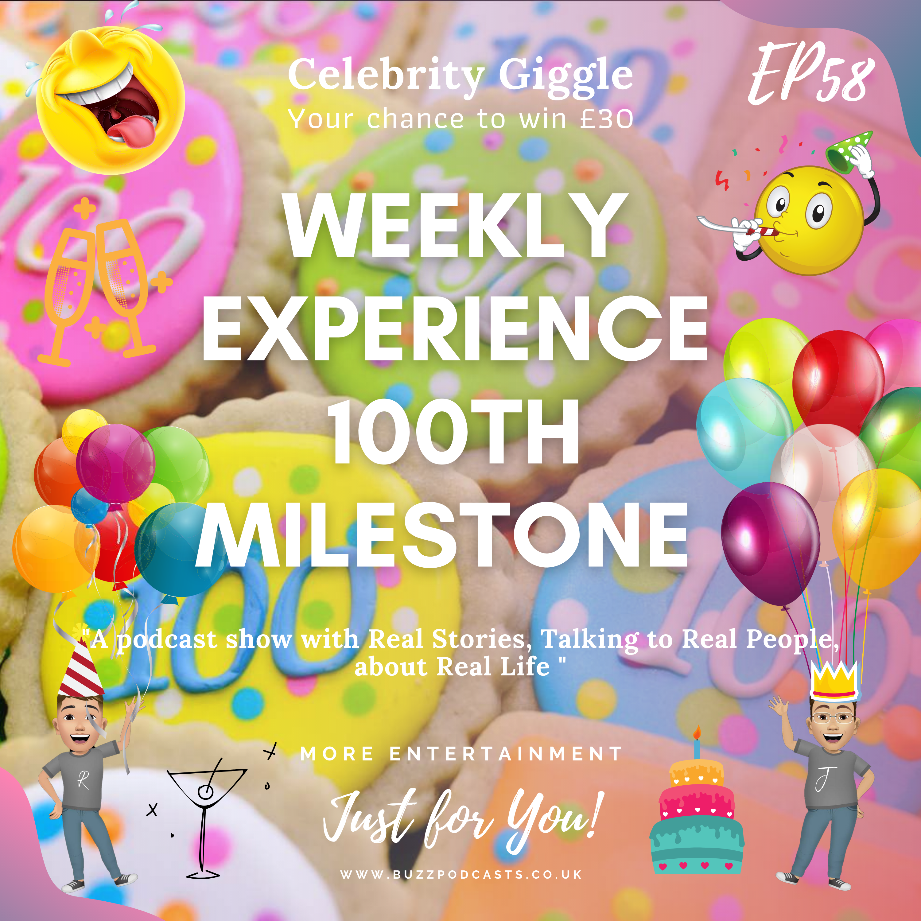 Weekly Experience 100th Milestone