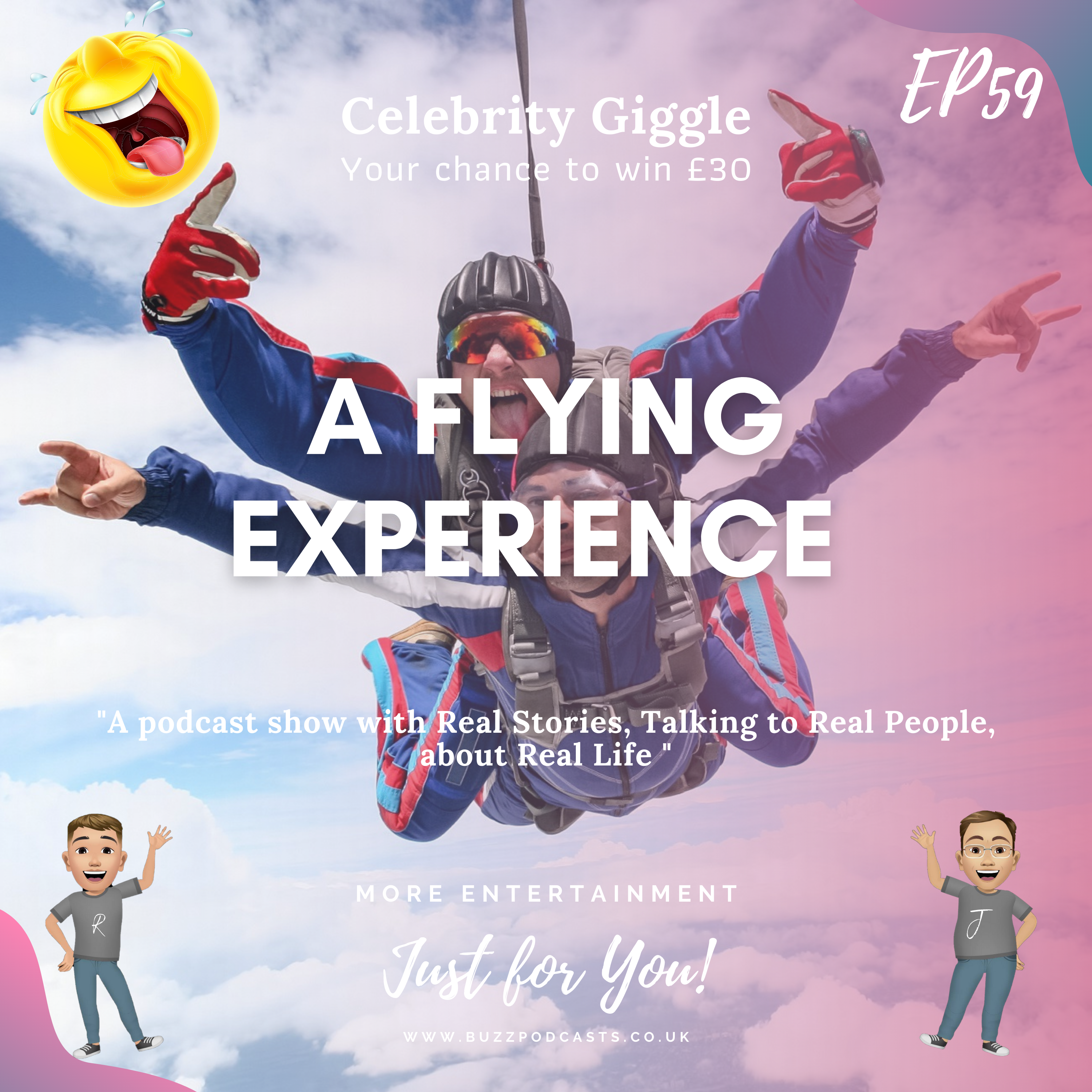 A Flying Experience on this weekly Experience show